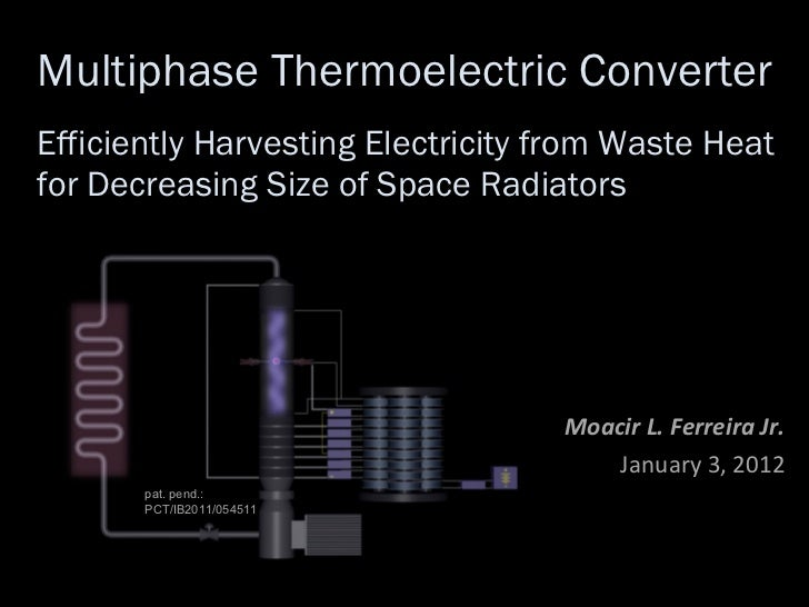 Multiphase Thermoelectric Converter Efficiently Harvesting Electricity from Waste Heat for Decreasing Size of Space Radiat...