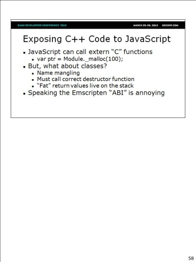 Multiplatform C++ on the Web with Emscripten