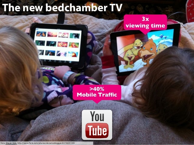 The new bedchamber TV 3x viewing time  >40% Mobile Traffic  Foto: Wayan Vota http://www.flickr.com/photos/dcmetroblogger/657...
