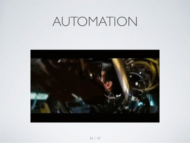 AUTOMATION  / 47  33