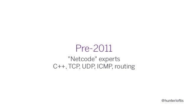 2011 Renaissance WebSocket protocol (+Node.js) @hunterloftis