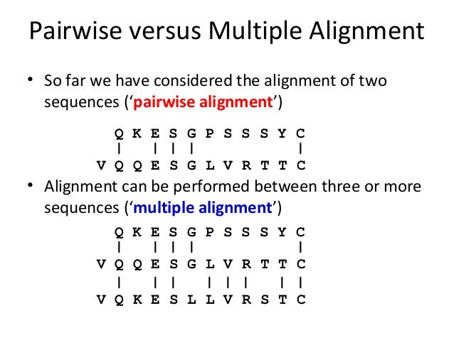 Ppt multiple sequence alignment powerpoint presentation id:5321612.