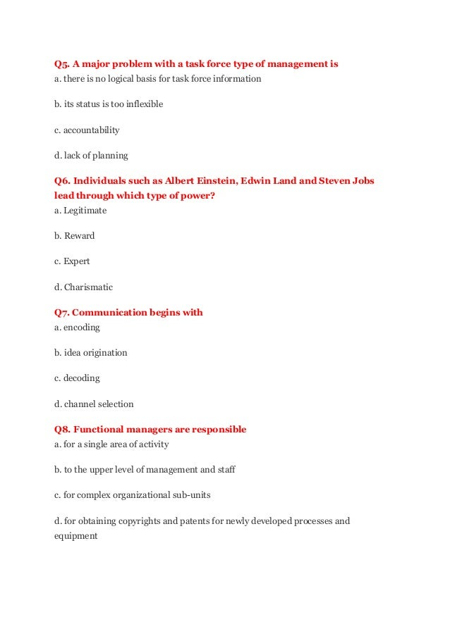 OFFICE MANAGEMENT MCQS DOWNLOAD