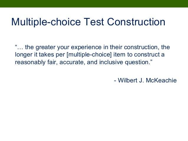 choice tests