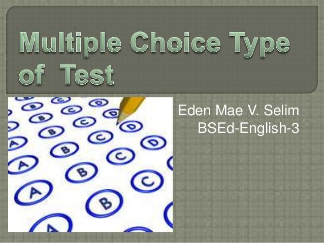 Eden Mae V. Selim BSEd-English-3