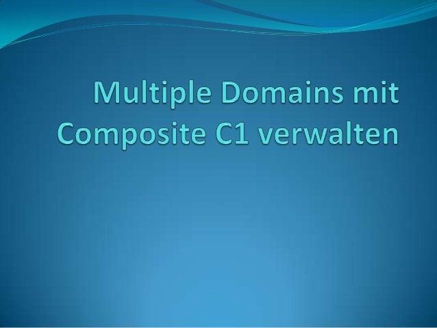Im letzten Artikel ging es um die Erstellung mehrsprachiger Websites mit Composite C1. Als Ergänzung zu diesem Beitrag wer...