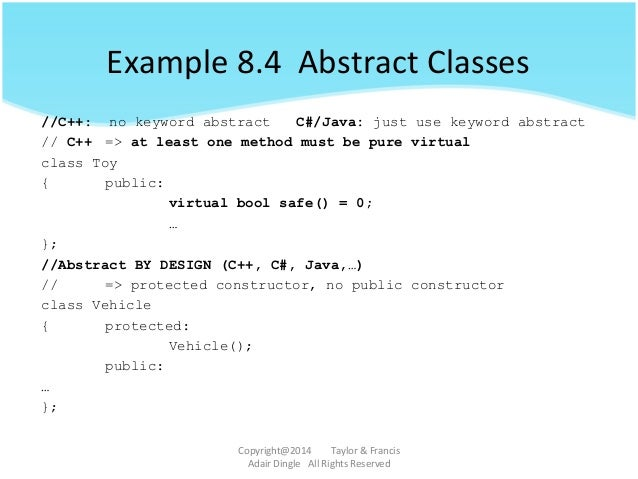 Object-Oriented Design: Multiple inheritance (C++ and C#)