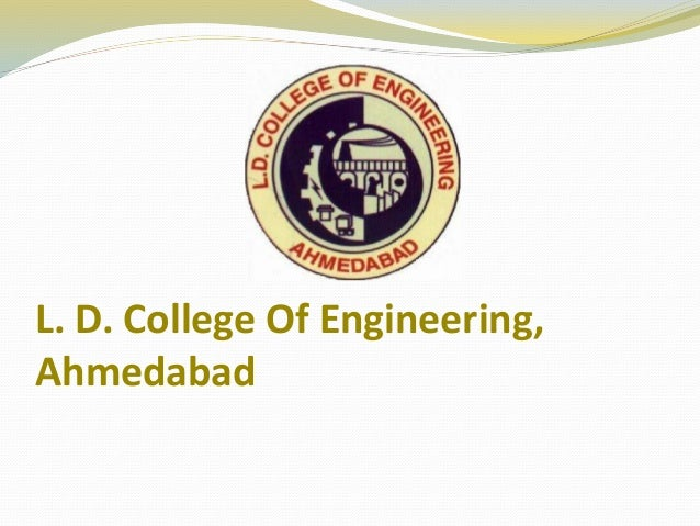 L. D. College Of Engineering, Ahmedabad
