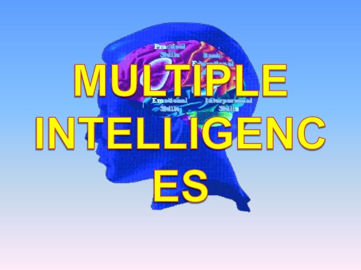 Intelligence Means….• the ability to acquire and apply knowledge  and skills                              -The Oxford Dict...