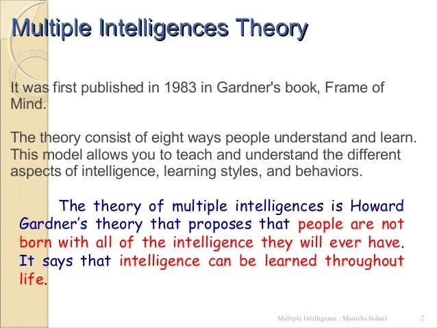 theory of multiple intelligences essay outright shaking ml theory of multiple intelligences essay