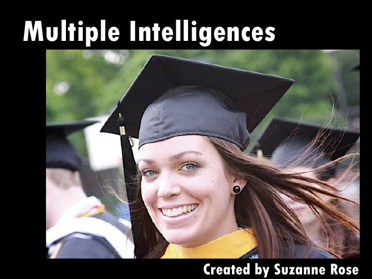 Multiple Intelligences Created by Suzanne Rose
