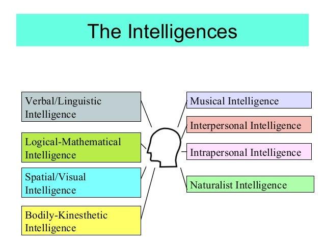 Discovery wheel multiple intelligences essay