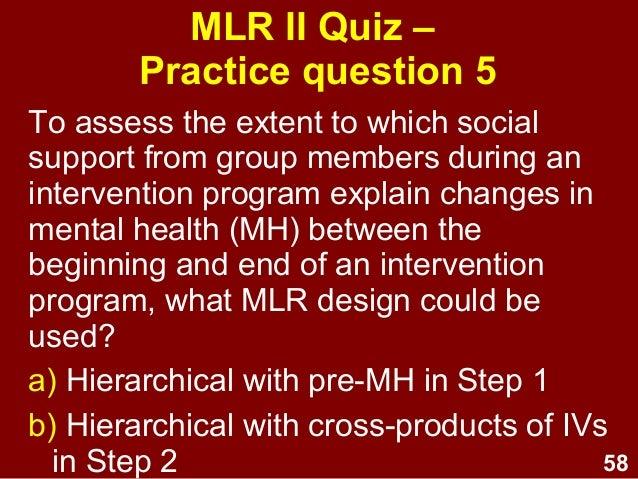 multiple linear regression ii