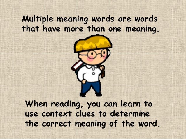 Multiple Meaning Words Worksheets 7th Grade multiple meaning – Multiple Meaning Words Worksheets 5th Grade