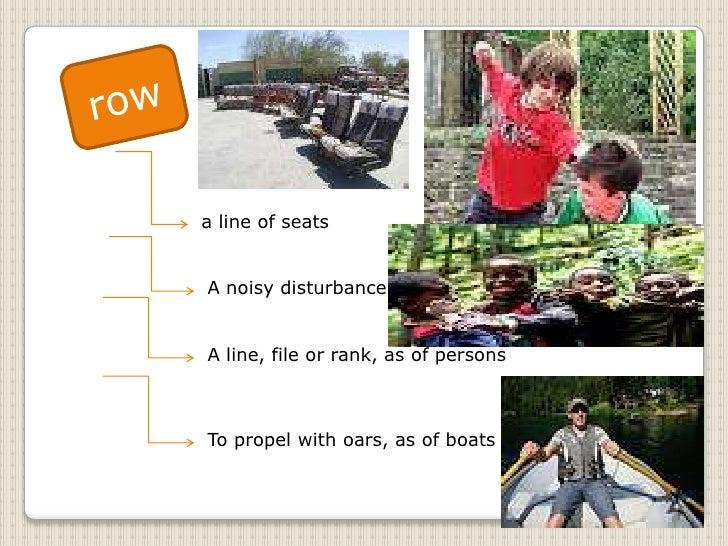 Multiple meaning words slide show Slide 3