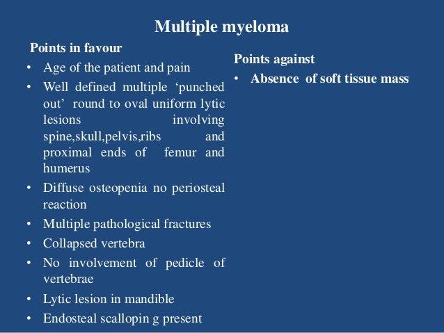 Case Presentation On Multiple Myeloma By Dr Brajesh K Ben