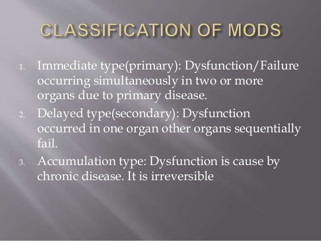 Multi organ dysfunction syndrome -medical surgical nursing ppt.