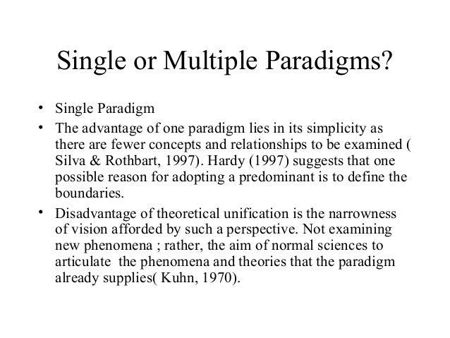 paradigms in nursing What is your paradigm time to spend on this section: 25 hours across disciplines (and within) there are varying views of what research is and how this relates to the kind of knowledge being developed paradigms guide how we make decisions and carry out research lawyers, for example, will use an adversarial paradigm while selection.