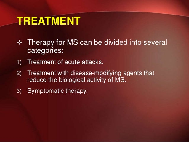 Multiple Sclerosis And Newer Concept In Management Till