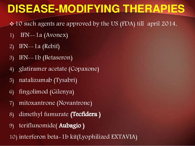 Multiple Sclerosis And Newer Concept In Management Till 2014 May