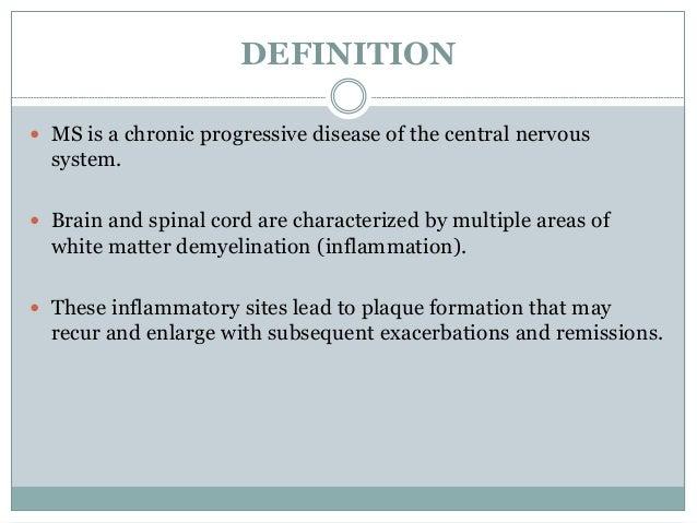 Multiple Sclerosis: Pathogenesis and Treatment