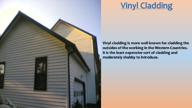 Types Of Cladding : Multiple types of cladding and systems