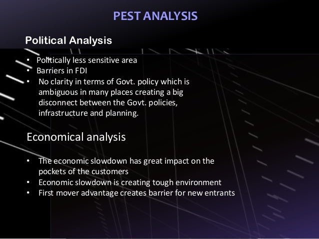 pest analysis on film industry Pharmaceutical industry pest analysis - research database this 12 page paper examines the state of the british film industry and the different influences.