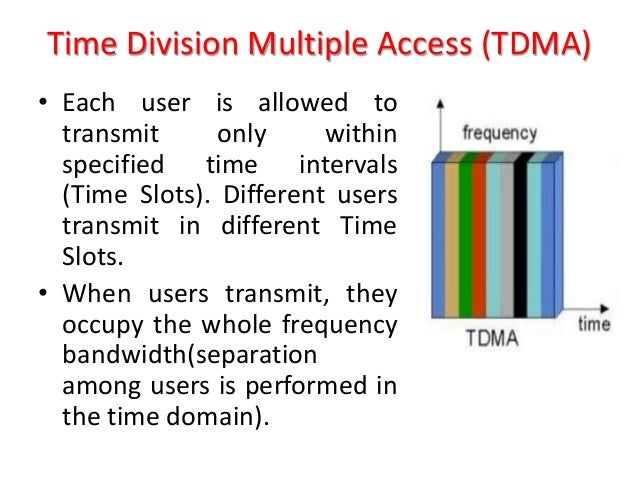 TIME DIVISION MULTIPLE ACCESS EBOOK