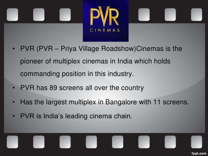 pvr cinemas marketing positioning and targeting