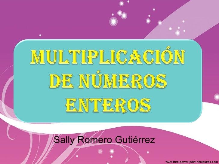 Sally Romero Gutiérrez
