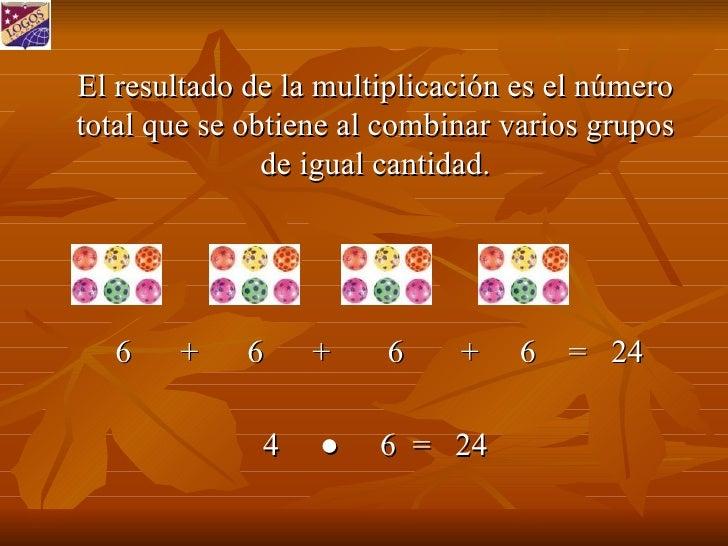 Multiplicar Mediante Suma Repetida Slide 2