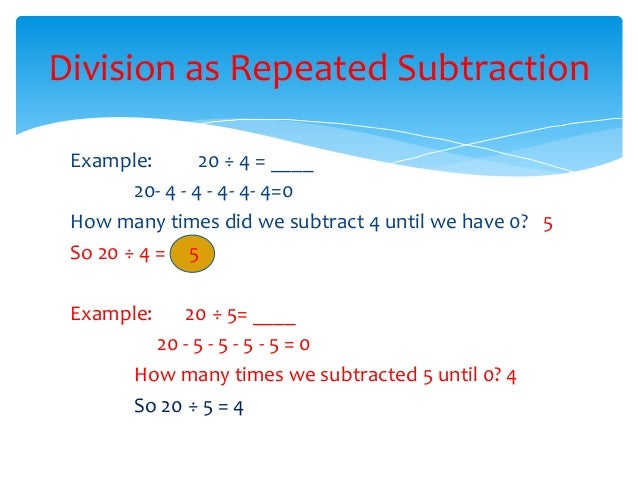 Subtraction Worksheets Division As Repeated Subtraction – Division As Repeated Subtraction Worksheet