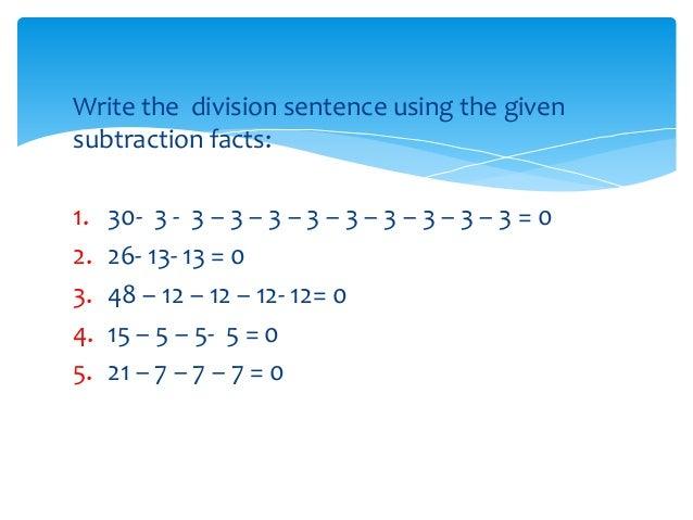 Division Subtraction - Laptuoso