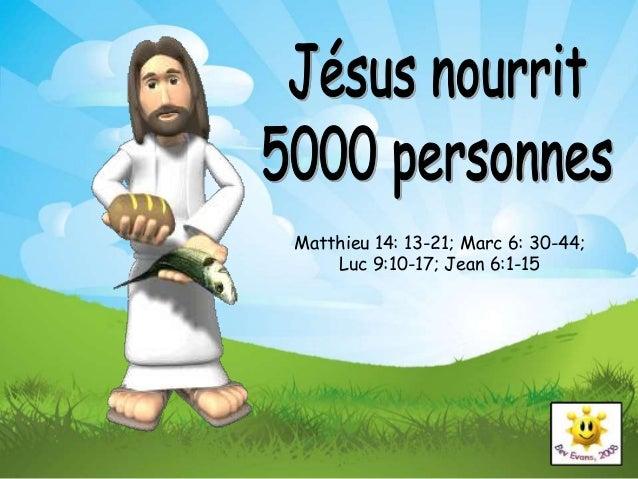 Multiplication des pains, Jésus nourrit la foule