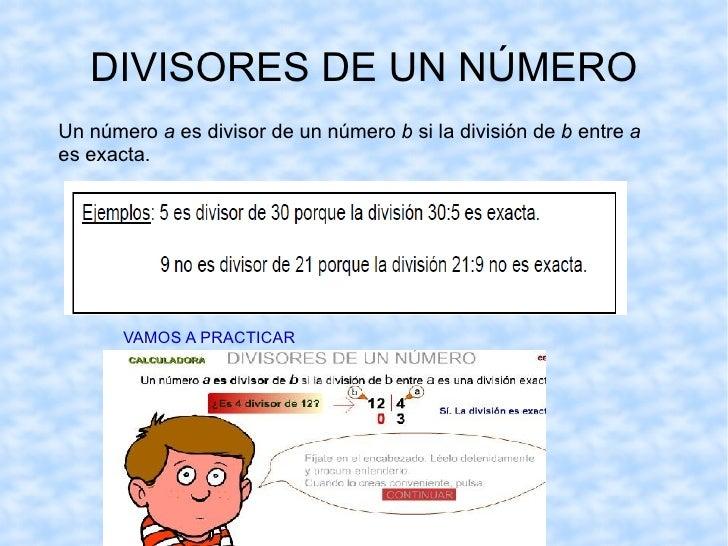 Eduardo puede poner en cada hoja  1,2,4, u 8 fotos. <ul><li>Los números 1,2,4,y 8 son  divisores  de 8, porque al dividir ...
