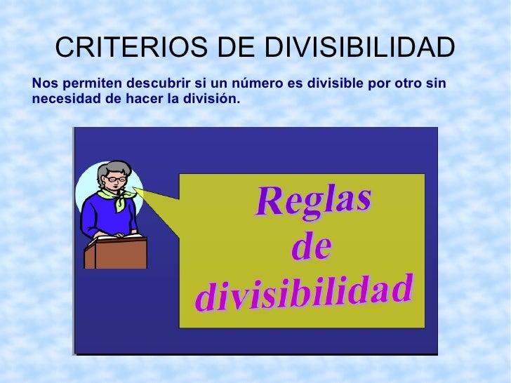 Los números 3, 5,6 y 7 no son divisores de 8, porque la dividir 8 entre cada uno de ellos la división es entera. </li></ul>