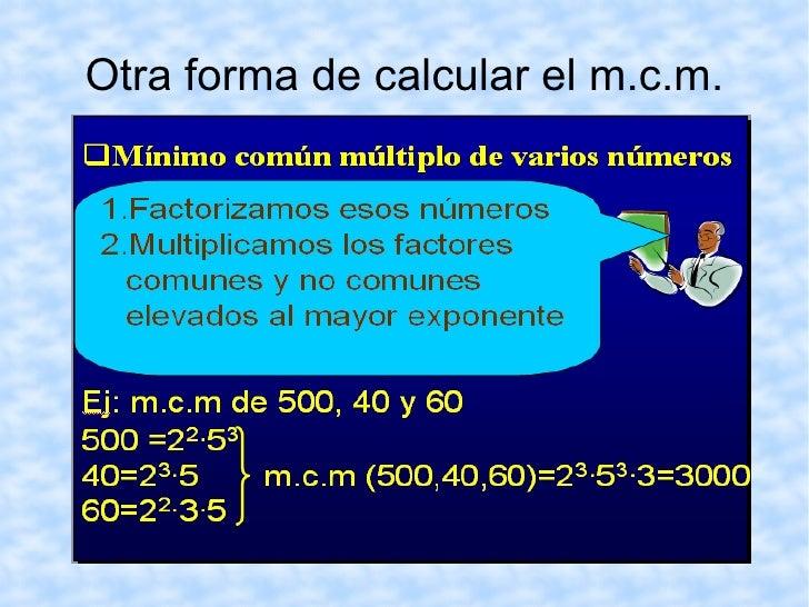 Vamos a practicar http://www.gobiernodecanarias.org/educacion/9/Usr/eltanque/todo_mate/multiplosydivisores/mcm/mcm_p.html