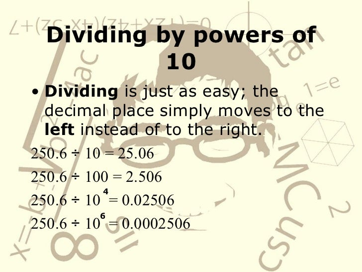 Multiply And Divide Decimals By Powers Of 10 – Multiplying and Dividing by Powers of 10 Worksheet