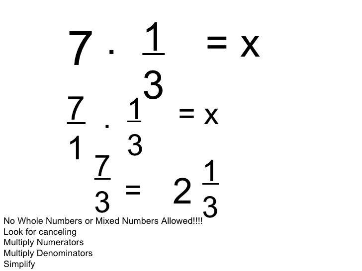 Multiplying Fractions 2 - YouTube