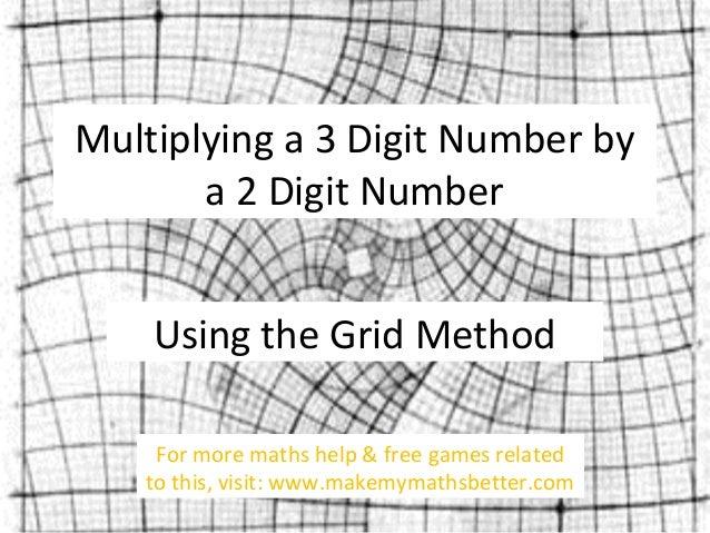 Number Names Worksheets multiplication of three digit numbers : Multiplication Three Digit By Two Digit Games - copy of three ...