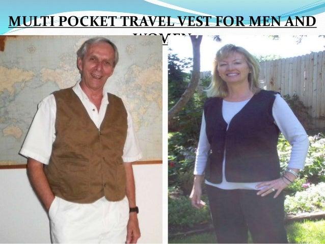 MULTI POCKET TRAVEL VEST FOR MEN AND WOMEN