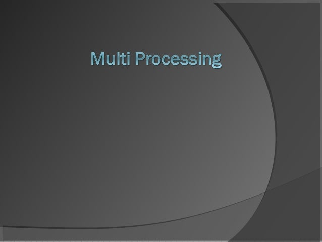 Multiple Processor Organization       Single instruction, single data stream - SISD Single instruction, multiple data ...