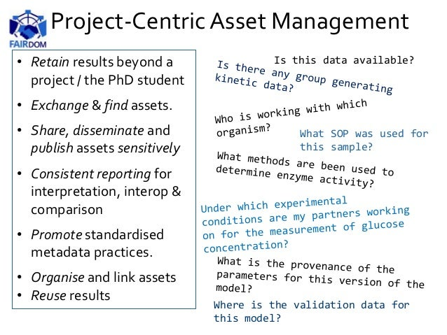 Project-Centric Asset Management Is this data available? What SOP was used for this sample? Where is the validation data f...