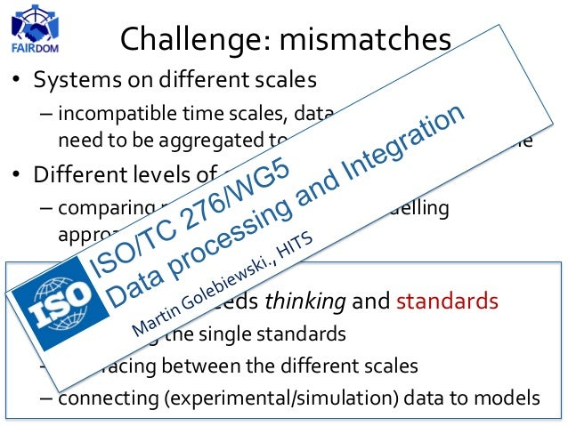 Challenge: model evolution BiVeS tool: diff in versions of computational models Provenance,Versioning, Parameter tracking ...