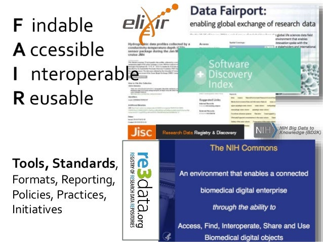 Tools, Standards, Formats, Reporting, Policies, Practices, Initiatives