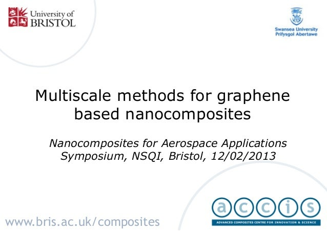 Multiscale methods for graphene         based nanocomposites       Nanocomposites for Aerospace Applications        Sympos...