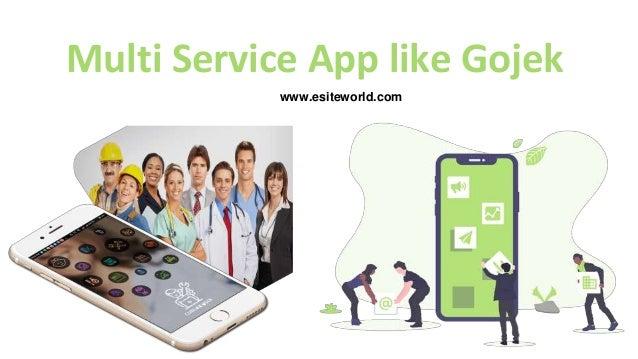 Multi Service App like Gojek www.esiteworld.com