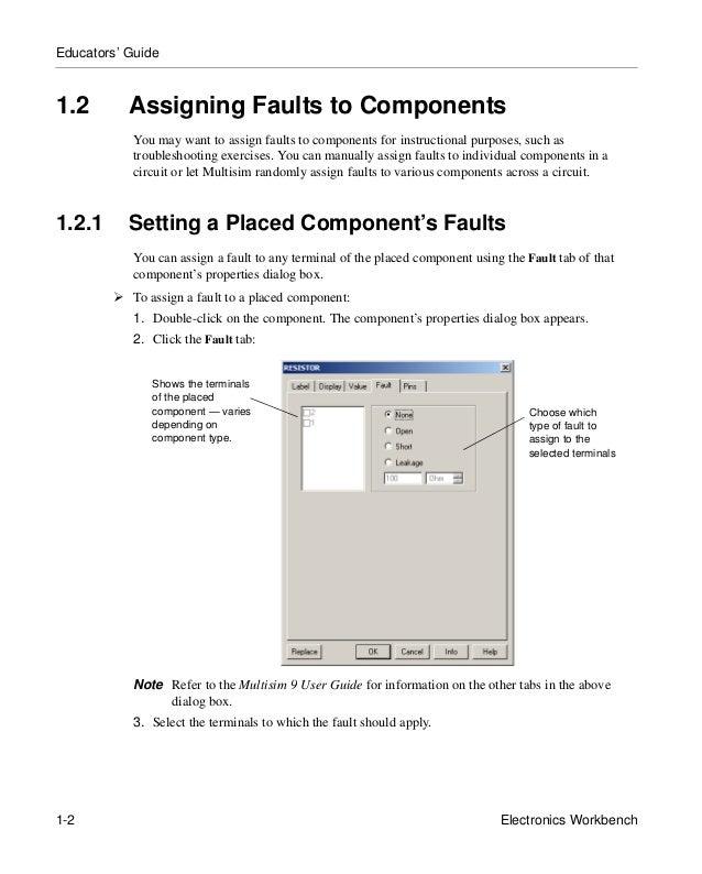 multisim 9 for educators rh slideshare net multisim 14 user guide multisim 11 user guide pdf