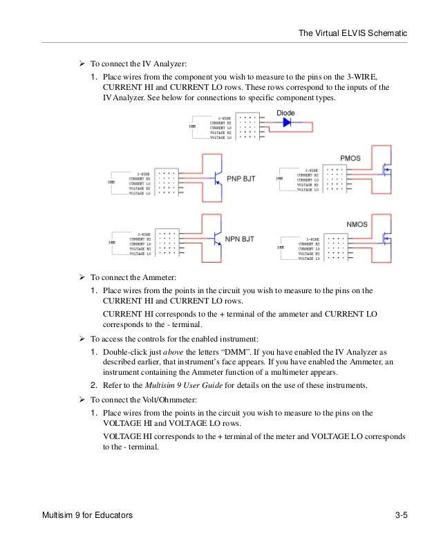 multisim 9 for educators rh slideshare net multisim user guide 2012 multisim 11 user guide