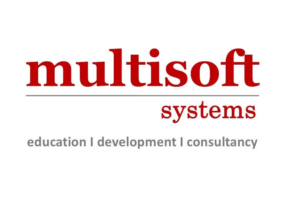 systems educationIdevelopmentIconsultancy